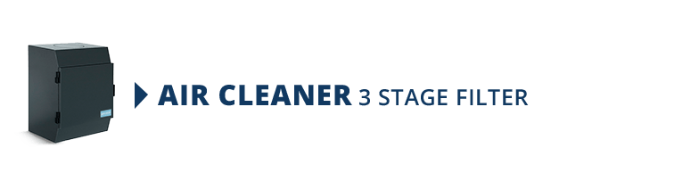 Air Cleaner 3 Stage Filter